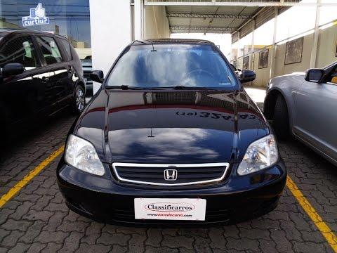 Honda Civic LX 1.6 16v Automático - 1999