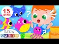 Baby Goes to the Aquarium | Baby Shark, Ocean Animals, Kids Songs & Nursery Rhymes by Little Angel