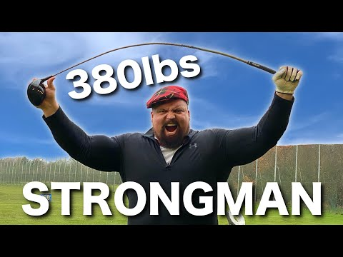 How far can the WORLD'S STRONGEST MAN hit a golf ball? EDDIE HALL