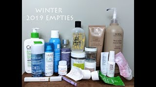 WINTER 2019 EMPTIES - Skincare, Makeup, Haircare | MICHXMASH