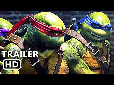 INJUSTICE 2 Teenage Mutant Ninja Turtles Trailer (2017) TMNT, Video Game HD