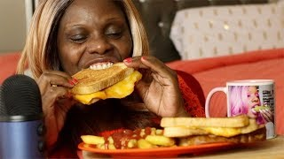 Out Of School Playing Foot Ball ASMR Grill Cheese And French Fries | Never Thought It Be Like This