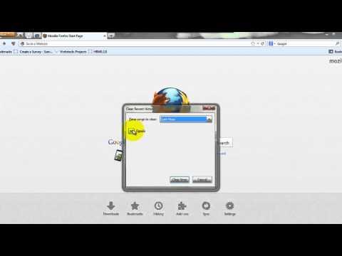 Delete Browser History Of Mozilla Firefox Hindi
