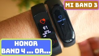 Honor Band 4 or Mi Band 3? Which one is better for you?