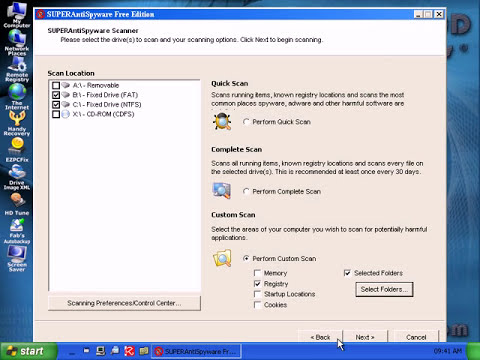 How To Remove Malware with Ultimate Boot CD for Win.  Part 2