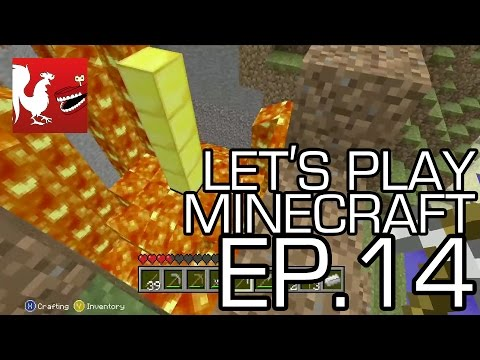 Let's Play Minecraft - Episode 14 - Find the Tower Part 2 | Rooster Teeth