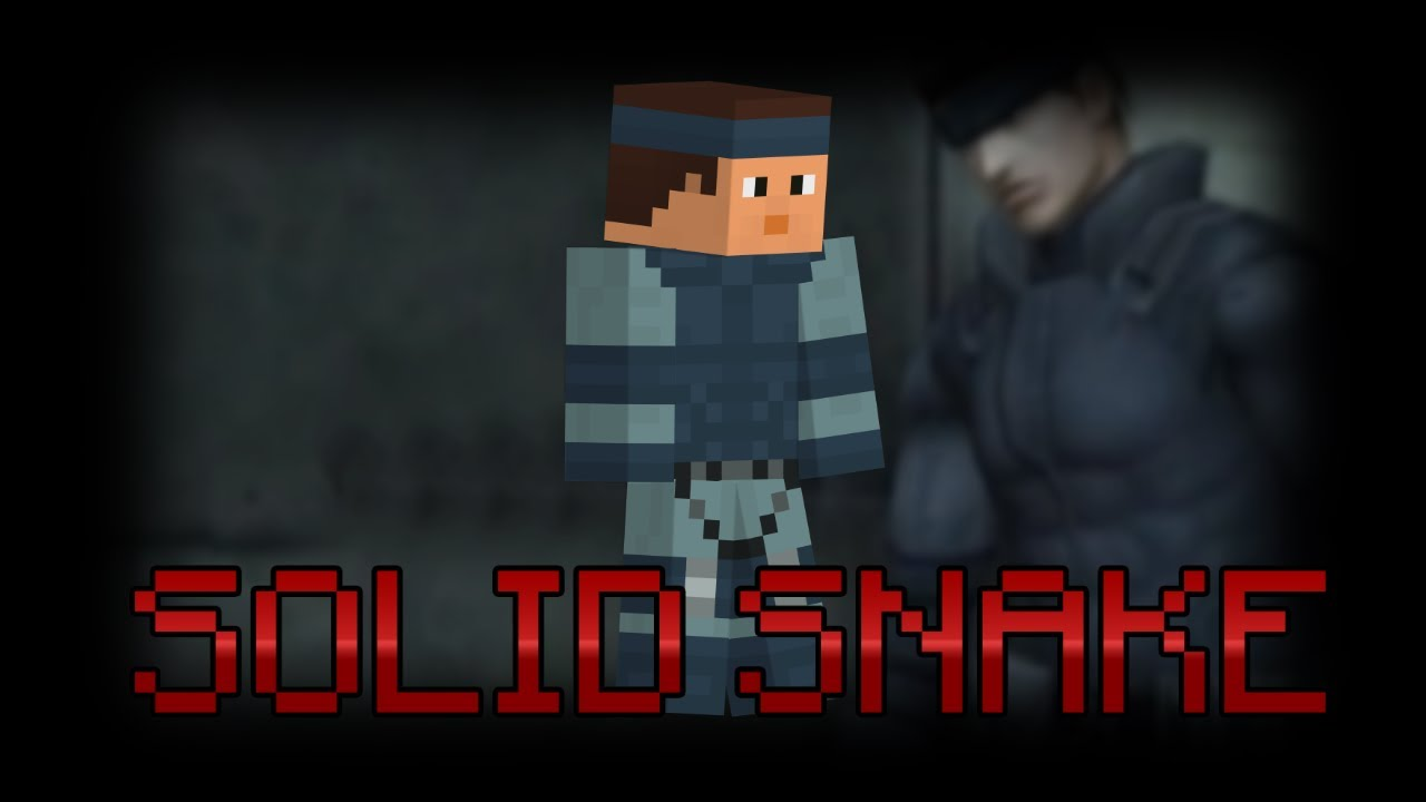 Minecraft mgs snake skin download - 966