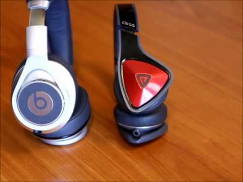 BEATS BY DRE EXECUTIVE vs MONSTER DNA HEADPHONE