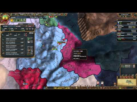 Adal Ass Kicking (1) - Let'splay - Ethiopia, Prester John Euiv video