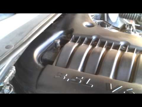 Chrysler 300 3.5 v6 EGR valve/sensor location