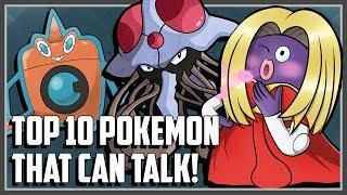 Top 10 Pokemon That Can Talk!
