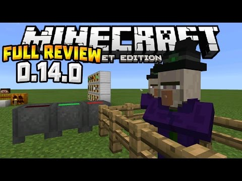 MCPE 0.14.0 OFFICIAL RELEASE!!! - Full Update Review - Minecraft PE (Pocket Edition)