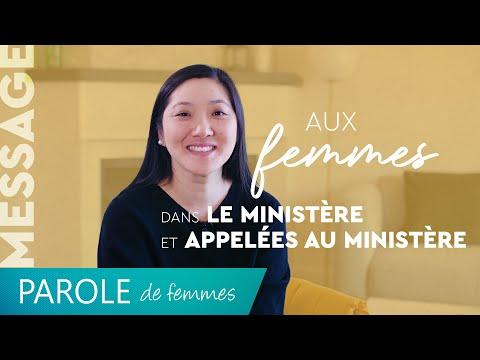 Message aux femmes dans le ministère et appelées au ministère - Parole de femmes - Annabelle S...