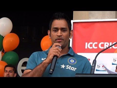 Dhoni's Speech before India vs Pakistan World Cup Match