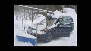 Homemade snowplow
