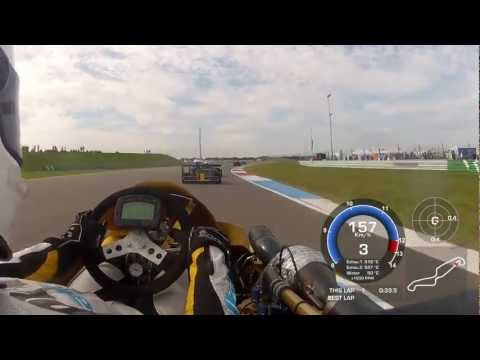 Video is from the CIK-FIA european championship in Superkart held at Assen TT circuit 3-5th of August 2012. I start in pole position and fuck up the start, dropping me down to 10th position....