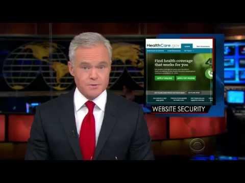 CBS News 11-13 - Healthcare.gov Security Risks