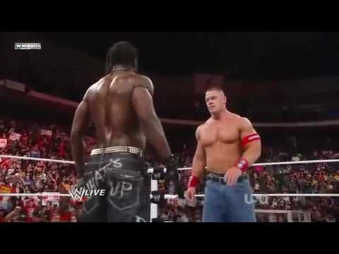 wwe extreme rules 2011 john cena vs the miz vs john ...