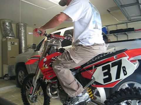 2001 Honda CR250 2-Stroke with Performance Mods Video