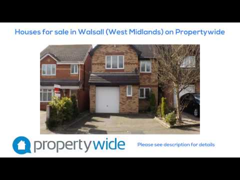 Houses for sale in Walsall (West Midlands) on Propertywide
