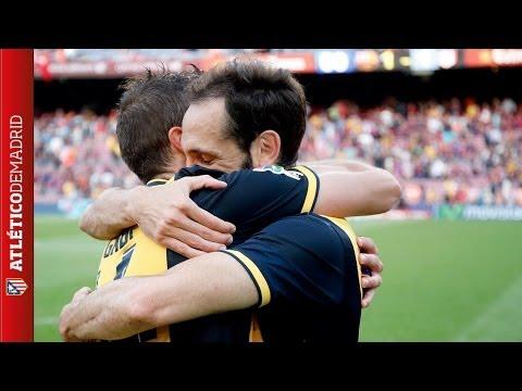 El festejo íntimo de Atlético de Madrid