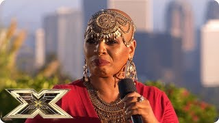 Janice Robinson stakes a claim for a place at Live Shows | Judges' Houses | The X Factor UK 2018