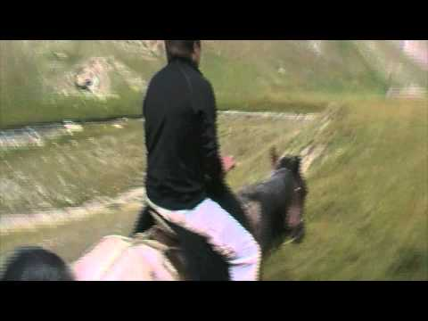 Horse riding at Tash Rabat - Kyrgyzstan (Кыргызстан)
