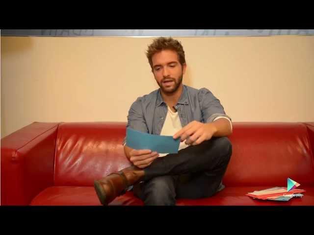 Diez Preguntas a Pablo Alborán