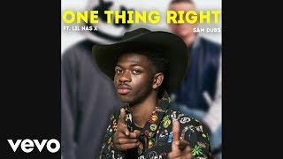 Lil Nas X Sings One Thing Right