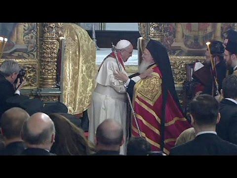 البابا فرنسيس يمد جسور الحوار بين المسيحية و الإسلام ،و بين الكاثوليكية و الأورثوذوكسية خلال…