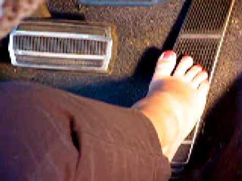 Revving barefoot