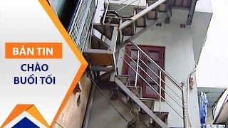 Kì lạ: Xây nhà 2 tầng trên nóc nhà vệ sinh | VTC1