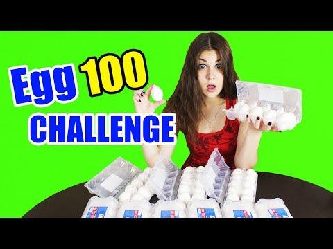 ПОЙМАЙ 100 ЯИЦ ЧЕЛЛЕНДЖ | Egg CHALLENGE! БОМБА ИЗ ЯИЦ!
