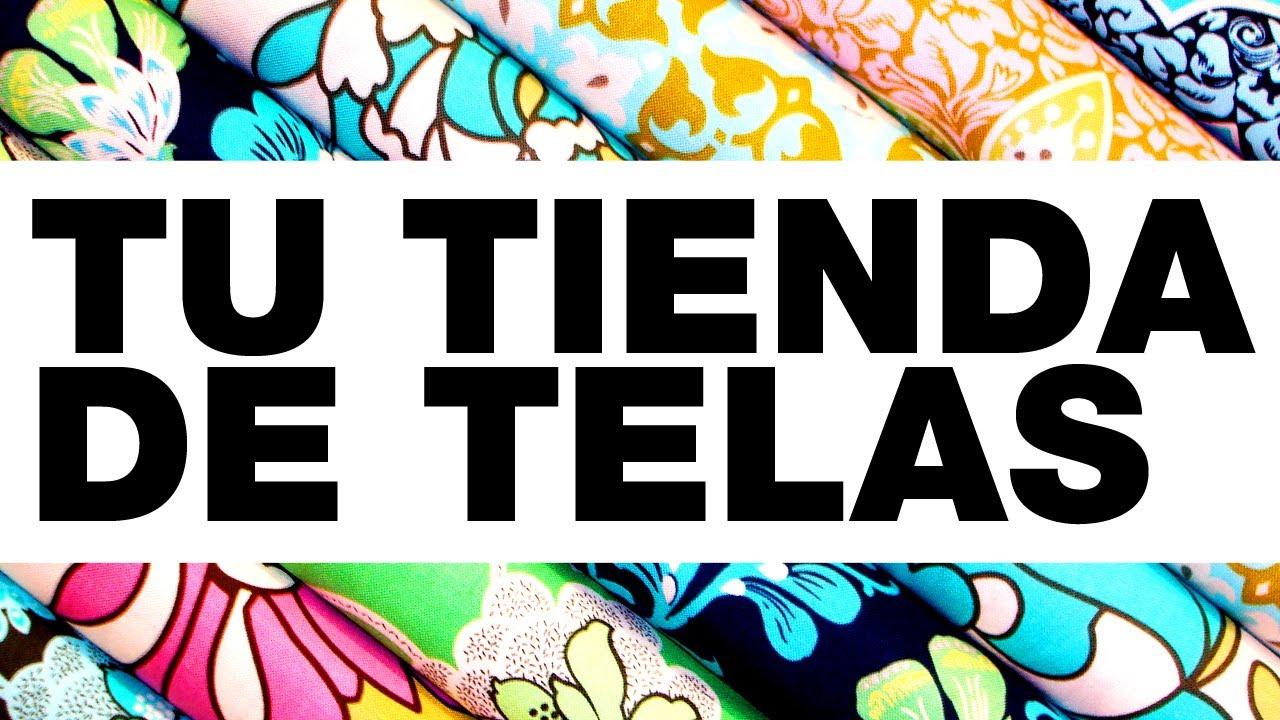 Como es la perfecta tienda de telas youtube for Telas para visillos de salon