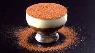 Сливочно-Кофейный Десерт: Невероятно Красивый Рецепт Для Самых Ленивых