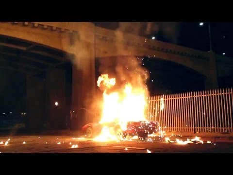 Bts - Car Explosion By Special Effects Pros video