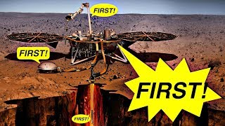 Five Firsts for Mars InSight