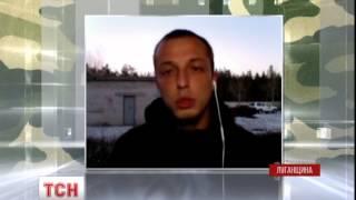 Через Луганськ проїхала колона бронетехніки бойовиків - : 2:57 - (видео)