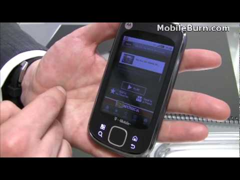 Motorola QUENCH / CLIQ XT - first look
