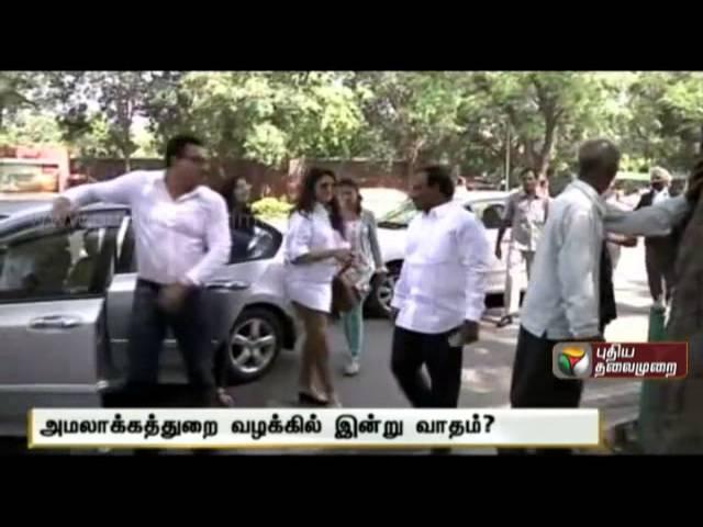 Debate on illegal fund in Kalaignar TV through 2G scam