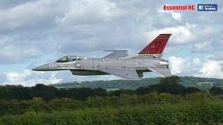 General Dynamics F-16 RC fighter jet 'FULL AFTERBURNER' [*UltraHD / 4K*]