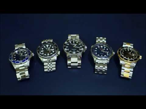 Automatic Dive Watch Comparison Across 5