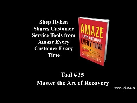Customer Service Tool #35: Master the Art of Recovery