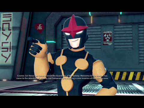 Disney Infinity 2.0 - Guardians of the Galaxy Part 7 - All Nova Missions