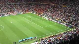 Portugal - Spain penalty 2012 Euro