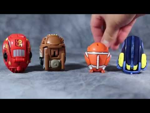 Disney's Pixar Eggs Stars - Finding Nemo & Cars