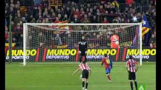 F.C.Barcelona 2 - Athletic Bilbao 0 (07-03-2009)