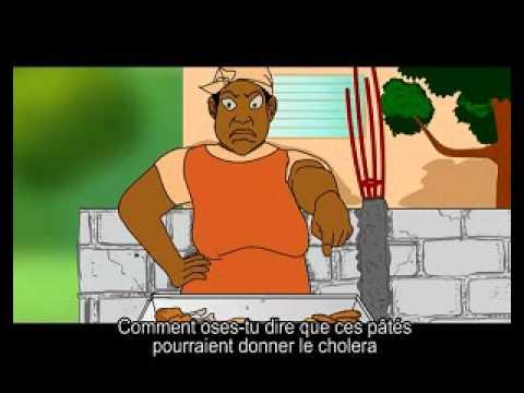 Haïti-Choléra: Film d'animation #2 de sensibilisation sur le cholera