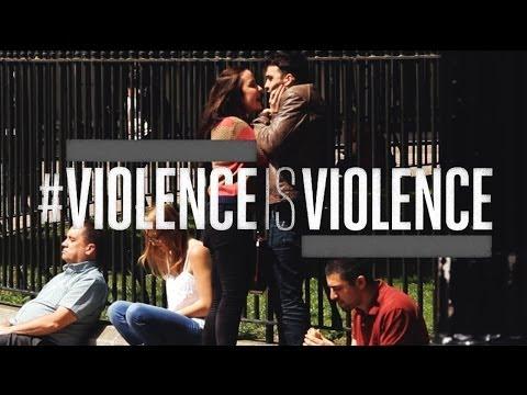 #ViolenceIsViolence: Domestic abuse advert Mankind