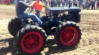 2 Massey-Harris GP 4WD Tractors going into the parade at the Manitoba Thresherman